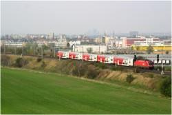 Die Südbahn bei Mödling